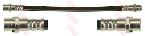 Шланг тормозной TRW PHA520 T4 06- задн