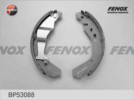 Колодки тормозные FENOX BP53088 Opel Agila; Subaru Justy III 1.0-1.5i, 08.02-