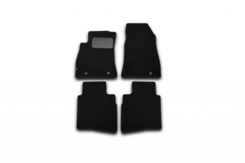 Коврики в салон Klever NISSAN Sentra 2014->, сед., 4 шт. (текстиль)