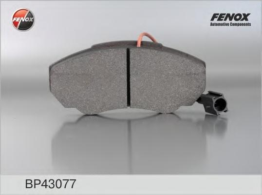 Колодки передние Fiat Ducato 94-02/02- 1500kg, PEUGEOT Boxer 94-02/02-BP43077