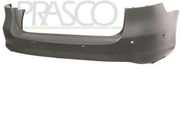 Бампер задний грунтованный (с парковочным автопилотом) / VW Passat-VII (Variant) 11~15