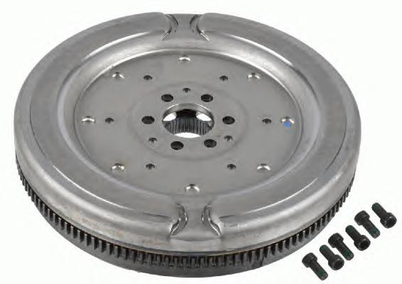 Маховик двухмассовый VW: 6DSG 1.4TSI 103kW/1.4TSI 125kW/2.0TFSI 147kW/2.0TFSI 177kW/2.0TDI 125kW