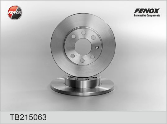 Диск тормозной передний OPEL Corsa 82-00, Astra 81-04, Vectra 88-95 TB215063