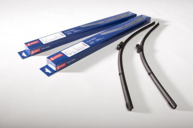 Щетка стеклоочистителя 550/450mm бескаркасная к-кт DF-110