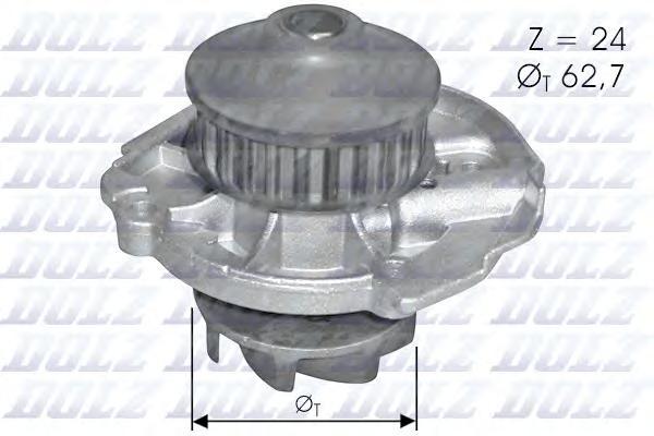 Помпа DOLZ S261 Fiat Doblo/Palio/Punto/Panda 1.1/1.2 91-