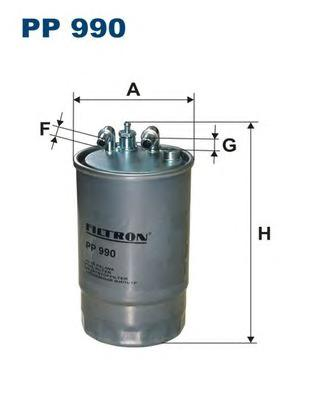 Фильтр топливный FILTRON PP990 Opel Corsa D 1.3CDTI 06>