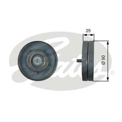 Ролик GATES T36436 VAG 1.8-2.0 TFSI 08-