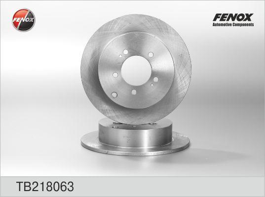 Диск тормозной задний CITROEN, Mitsubishi, PEUGEOT TB218063