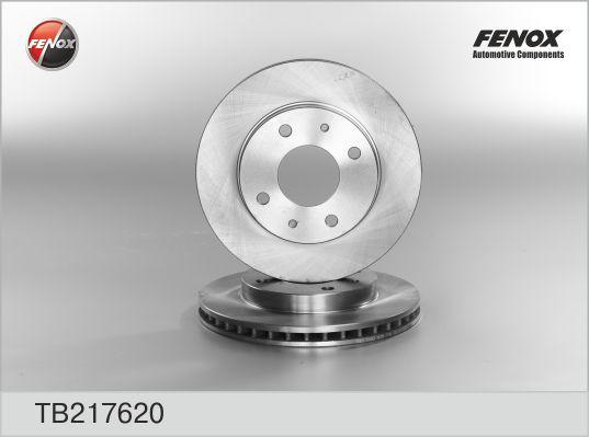 Диск тормозной FENOX TB217620 MMC Galant 92- пер.