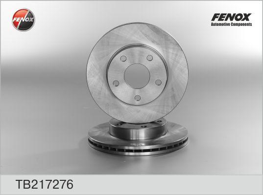 Диск тормозной передний FORD Scorpio 86-94 TB217276