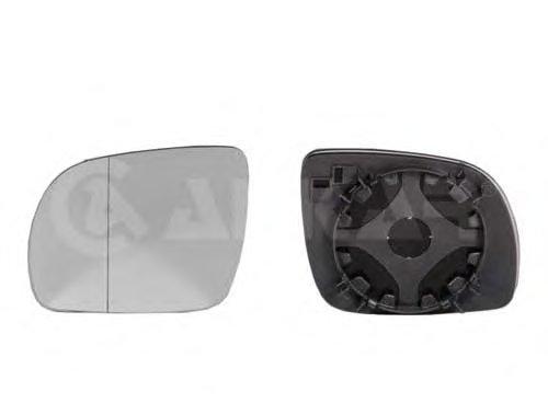 Стекло зеркала прав выпукл, тониров, с подогр, мал VW: GOLF IV(1997-03), PASSAT (B5)(1996-03), LUPO (1998-01) / SEAT: TOLEDO II, LEON I (1998-03)IBIZA III, CORD