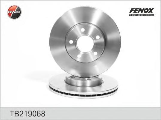 Диск тормозной передний Ford Focus II, Volvo S40 04-/V50 04- TB219068