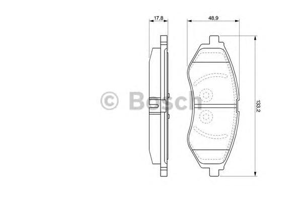 Колодки тормозные CHEVROLET AVEO 1.2-1.4 06- передние