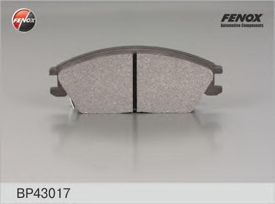 Колодки передние Hyundai Accent (X-3) 94-00, Accent (LC) 00-, Getz 02- BP43017