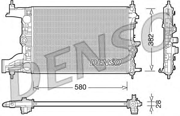 Радиатор системы охлаждения OPEL: ASTRA J 1.7 CDTI 09-\ VAUXHALL: ASTRA MK VI 1.7 CDTI 09-