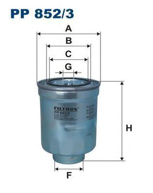 Фильтр топливный FILTRON PP 852/3