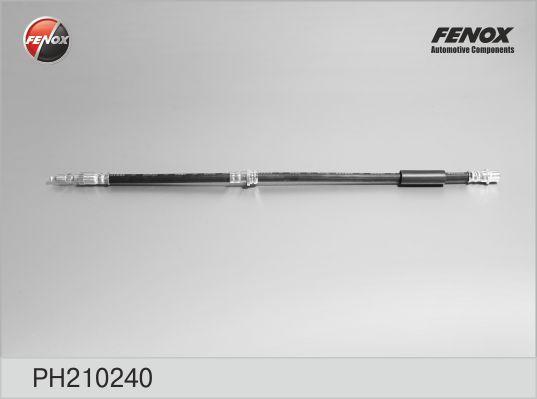 Шланг тормозной задний Ford Fiesta 02-08, Fusion 02- PH210240