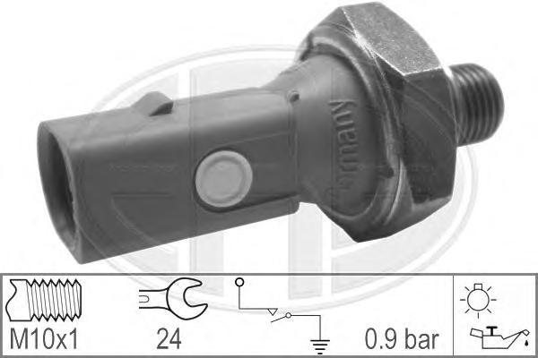 Датчик давления масла ERA 330321 Seat/VW