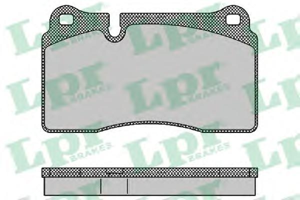 Комплект тормозных колодок 05P1376