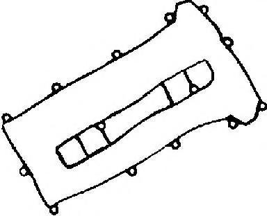 Прокладка к/к VICTOR REINZ 153553801 FORD Mondeo III / MAZDA 6