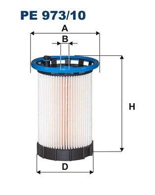 Фильтр топливный VAG Q3 2.0TDI, Passat 11-, CC -12