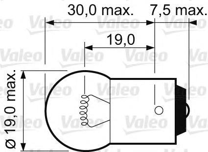Лампы R10W 12V 10W BA15s Essential CardBoard (2шт. в коробке)