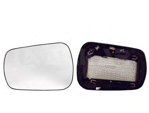 Стекло зеркала лев с подогр, выпукл FORD: FIESTA , FUSION (2002-05)