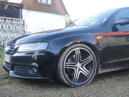 Eibach B12 Sportline на Audi A4 (B8)