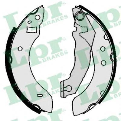 Колодки тормозные LPR 04600 FORD ESCORT