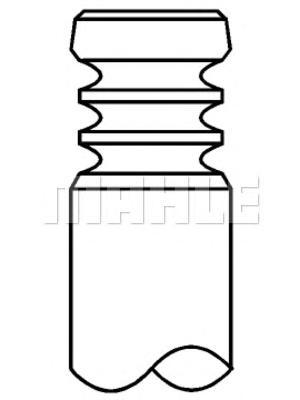 Клапан двигателя впускной AUDI: A2 1.4 TDI 00-05, A3 1.9 TDI 96-03, A3 1.9 TDI/2.0 TDI/2.0 TDI quattro 03-12, A3 Sportback 1.9 TDI/2.0 TDI/2.0 TDI quattro 0