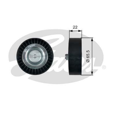 Ролик обводной ремня поликлинового T36458 (7803-21558)