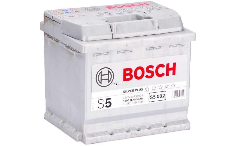 Аккумулятор BOSCH S5 54 а/ч о.п ток 530 207х175х190