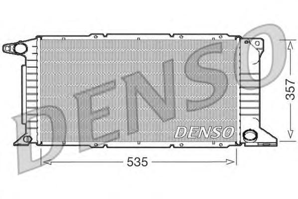 Радиатор системы охлаждения FORD: TRANSIT TOURNEO 2.5 TD 94 - 00 , TRANSIT c бортовой платформой/ход