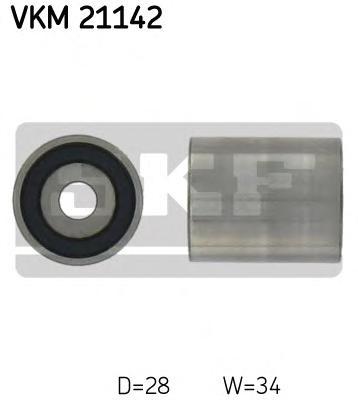 Ролик натяжителя SKF VKM21142 Audi A3-A6/VW Passat 1.9TDi 98-