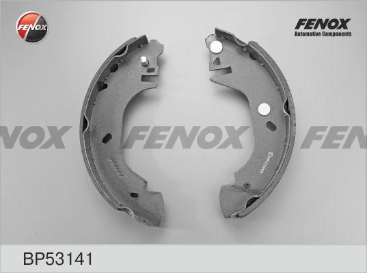 "Колодки тормозные FENOX BP53141 Ford Transit 80-120 91-00 диск 14"" BENDIX"