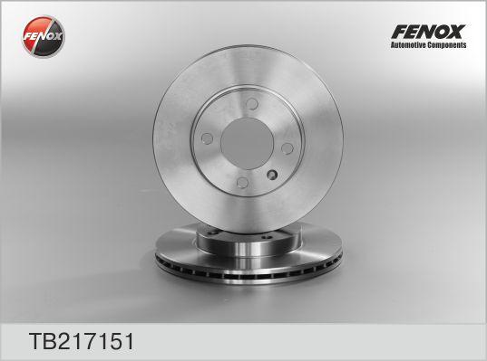 Диск тормозной передний VW Golf 82-97, Passat 75-88 TB217151