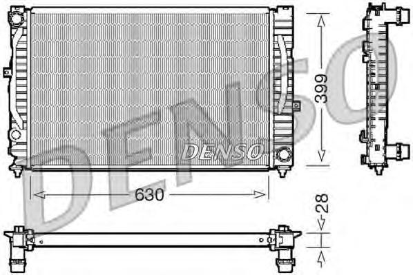 Щетка стеклоочистителя бескаркасная rxu41
