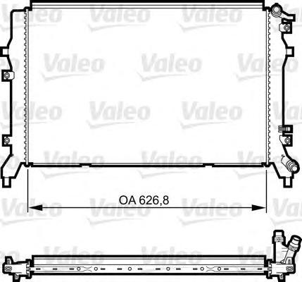 Радиатор системы охлаждения VW: TIGUAN (5N) 1.4 TSI 10-