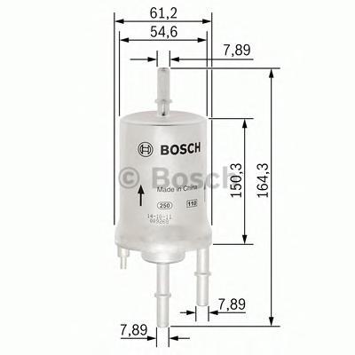 Топливный фильтр F026403006