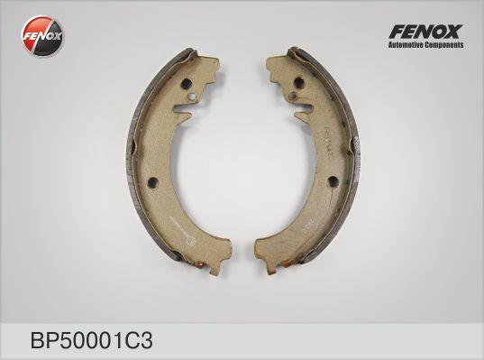 Колодки барабанные задние ВАЗ 2101-2107, 2121, 2123 BP50001C3
