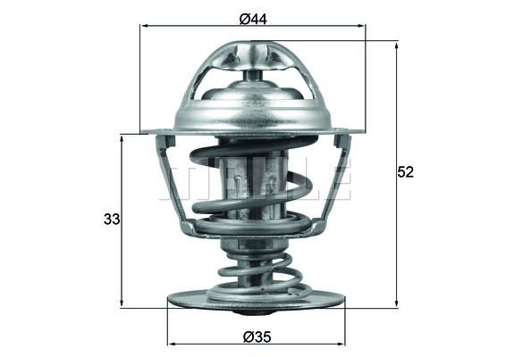 Термостат CITROEN: C5 III 2.7-3.0D 09-