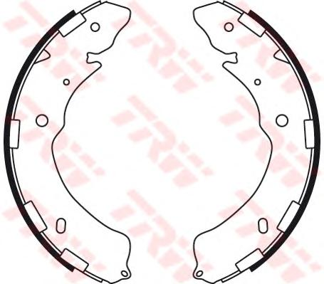 Колодки барабанные MITSUBISHI L200 (2005- ), LEGASY V, OUTBACK (BM, BR) GS8768