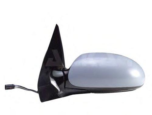 Зеркало наружное в сборе прав, электр, с подогр, выпукл, грунт FORD: FOCUS - 98-04