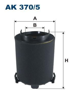 Фильтр воздушный AK370/5