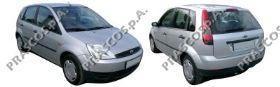 Решетка переднего бампера, левая (для а/м с противот. фарами) / FORD Fiesta-V 11/01~10/05
