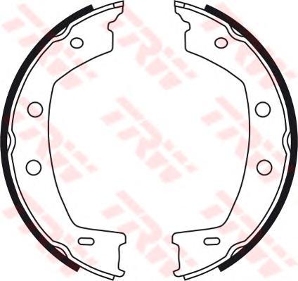 Колодки барабанные LAND ROVER FREELANDER 2 GS8751