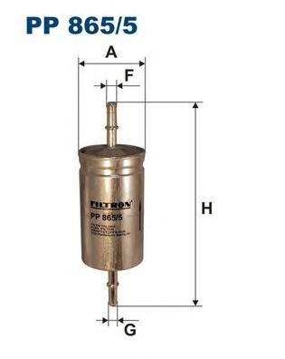 Фильтр топливный PP865/5