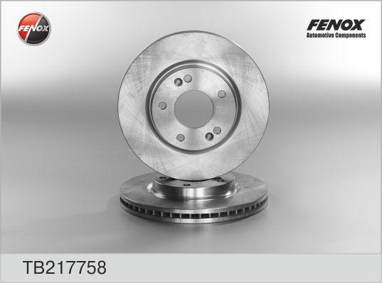 Диск тормозной передний HYUNDAI GALL I,II, TRAJET, SANTA FE 00-05 TB217758