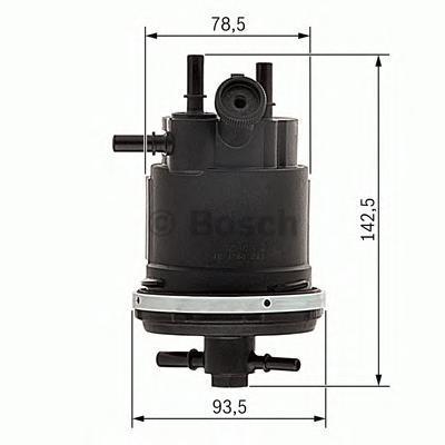 Фильтр топливный CITROEN/PEUGEOT HDI