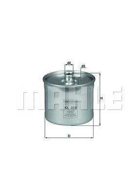 Фильтр топливный LANDROVER Freelander 2.5V6